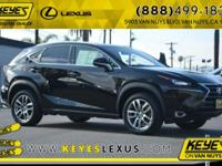 Recent Arrival! 2015 Lexus NX 28/22 Highway/City MPG