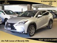 Options:  2015 Lexus Nx 200T|Silver|Navigation-One