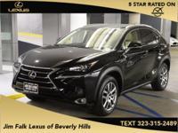 Options:  2015 Lexus Nx 200T|Black|Navigation-One