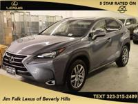 Options:  2015 Lexus Nx 200T|Gray|Navigation-One