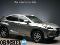 Certified with new tires!! Silver 2015 Lexus NX