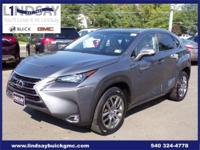 Options:  2015 Lexus Nx 200T|Gray|Carfax One-Owner.