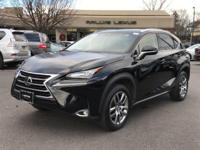 Options:  2015 Lexus Nx 200T|Obsidian/Black|V4 2.0 L