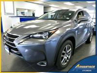 Beautiful in and out, this low mileage Lexus NX 200t is