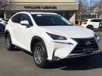 Options:  2015 Lexus Nx 200T|Eminent White