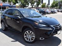 CARFAX One-Owner. Clean CARFAX. BLACK 2015 Lexus NX