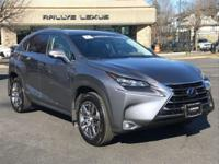 Options:  2015 Lexus Nx 300H|Nebula Gray Pearl/Black|V4