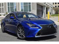 Rest assured, once you take this Lexus RC 350 home you