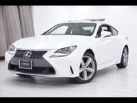2015 Lexus RC 350 AWD Finished with Starfire Pearl