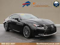 Takea look at this 2015 Lexus RC F! Oneowner vehicle