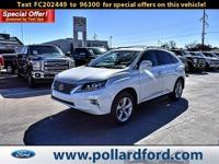 2015 Lexus RX Clean CARFAX. CARFAX One-Owner. Odometer