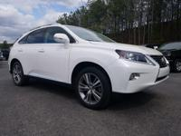 Take command of the road in the 2015 Lexus RX 350!