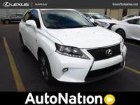2015 Lexus RX 350 CERTIFIED F-Sport AWD One Owner