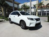 Factory Navigation / GPS and Lexus Certified. AWD and