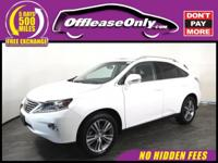 MUST SEE! One Owner. This 2015 Lexus RX 350 finished in