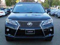 Options:  2015 Lexus Rx 350|Black/Black|V6 3.5 L