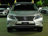 Options:  2015 Lexus Rx 350|Silver/Black|V6 3.5 L