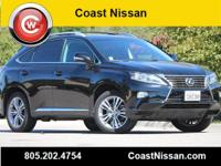 Obsidian 2015 Lexus RX 350 FWD 6-Speed Automatic with