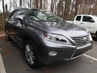 1 OWNER and CLEAN CARFAX. RX 350, 4D Sport Utility,