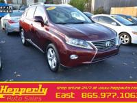 This 2015 Lexus RX 350 was Mr. Hepperly's personal