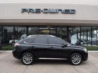 Certified. CARFAX One-Owner. Black w/Leather Seat Trim,