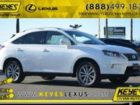 Lexus Certified and Cloth. Nice SUV! Call us now! Want