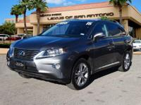 RX 350 trim. L/ Certified, CARFAX 1-Owner, LOW MILES -
