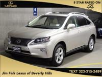 ONE OWNER!!  The Jim Falk Lexus of Beverly Hills EDGE!