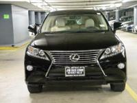NAVIGATION-ONE OWNER!!  Hurry in! This RX350 was leased
