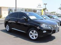 Options:  2015 Lexus Rx 350|Black|12 Speakers|Am/Fm