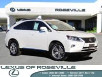 AWD!!, BRING ON THE SNOW!!  L CERTIFIED BY LEXUS|