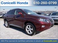 This one owner, 2015 Lexus RX 350 AWD 4dr has 45,625
