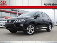 New Price! 2015 Lexus RX 350CARFAX One-Owner. Clean
