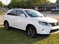 2015 Lexus RX 350 F Sport. AWD and Black Leather.