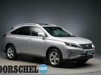 Navigation and new tires! Silver 2015 Lexus RX 350New
