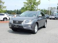 2015 Lexus RX 350 in Nebula Gray Pearl, SUNROOF /