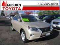 ONE OWNER, LEATHER, MOON ROOF! This 2015 Lexus RX 350