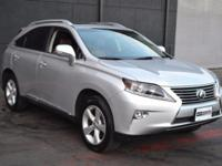 This 2015 Lexus RX 350 AWD features a 3.5L V6 CYLINDER