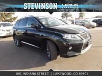 L/Certified 2015 Lexus RX with 2 year unlimited mileage