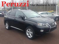 CARFAX One-Owner. Clean CARFAX. Black 2015 Lexus RX 350