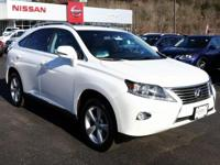 2015 Lexus RX White 350 AWD. CARFAX One-Owner. Clean