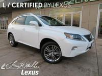 *This Lexus RX 350 AWD Premium Package w/ Navigation