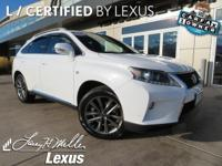 *Experience a Fully-Loaded Lexus RX 350 AWD F Sport w/