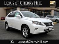 2015 Lexus RX 350 CARFAX One-Owner. Clean CARFAX. White