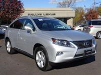 Options:  2015 Lexus Rx 350|Silver Lining