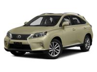 2015 Lexus RX 350       Clean CARFAX. CARFAX One-Owner.