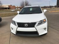This outstanding example of a 2015 Lexus RX 350 F Sport