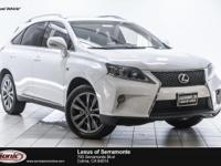 Boasts 26 Highway MPG and 18 City MPG! This Lexus RX