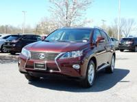 2015 Lexus RX 350 in Claret Mica, SUNROOF / MOONROOF,