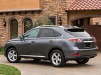 2015 Lexus RX 350. AWD and Light Gray Leather. Isolated